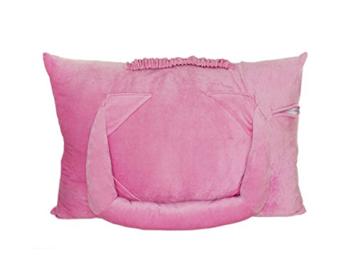 Regalo Perfecto Collection Pink Plush Tablet Pillow