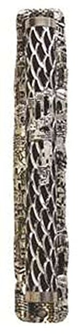 Ultimate Judaica Mezuzah Cover with Jerusalem Shin Design - 10 CM
