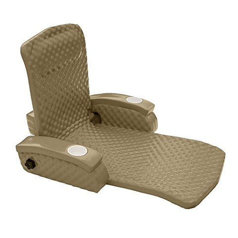 Eclipse Collection Super Soft Adjustable Pool Recliner - Made in the USA (Bronze)