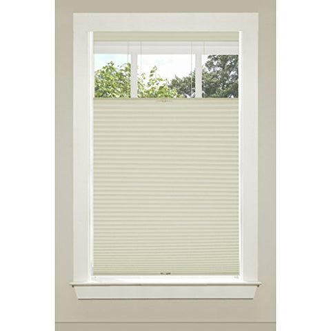 Park Avenue Collection Top Down-Bottom Up Cordless Honeycomb Cellulat Shade 39x64 Alabaster