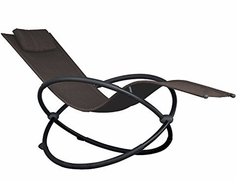 Eclipse Collection Orbital Lounger - Single (Sienna)