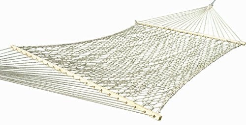Eclipse Collection Cotton Rope Hammock - Double (Natural)