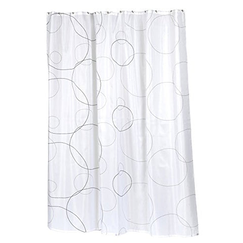 Park Avenue Deluxe Collection Park Avenue Deluxe Collection  inch Ava inch  Fabric Shower Curtain