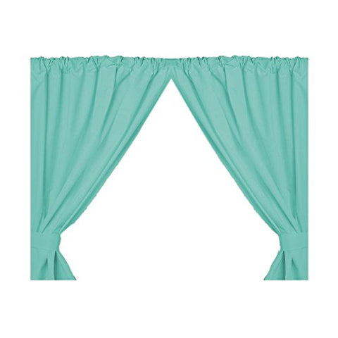 Park Avenue Deluxe Collection Park Avenue Deluxe Collection Vinyl Window Curtain in Jade