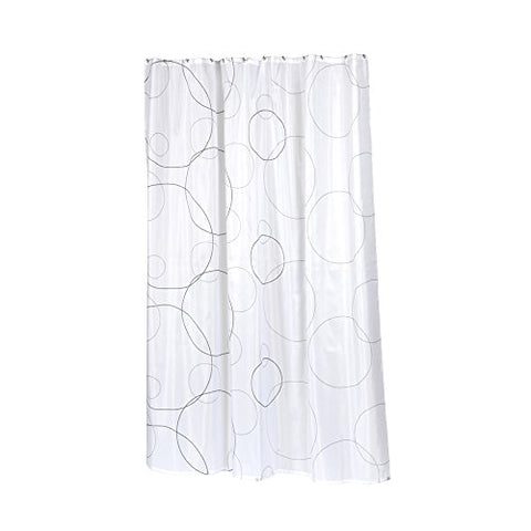 Park Avenue Deluxe Collection Park Avenue Deluxe Collection Extra Long  inch Ava inch  Fabric Shower Curtain