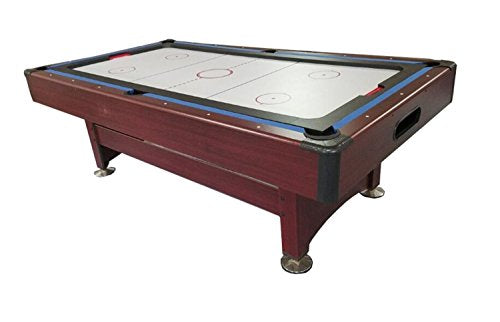 By PoolCentral 8' Recreational 2-in-1 Pool Billiards and Hockey Game Table