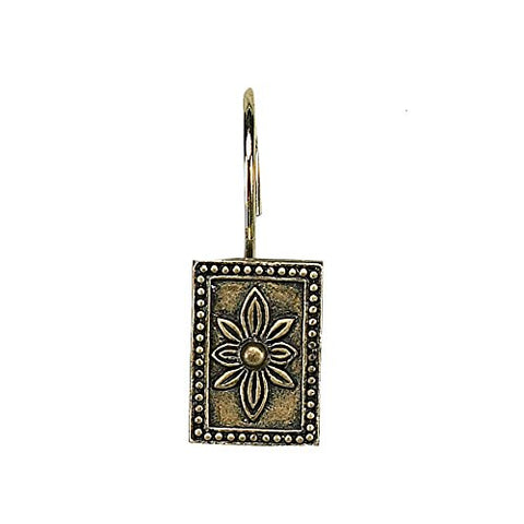 Park Avenue Deluxe Collection Park Avenue Deluxe Collection  inch Carlisle inch  Resin Shower Curtain Hooks in Antique Gold