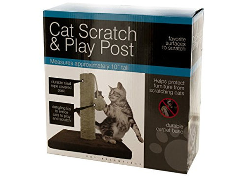 Regalo Perfecto Collection Cat Scratch & Play Post