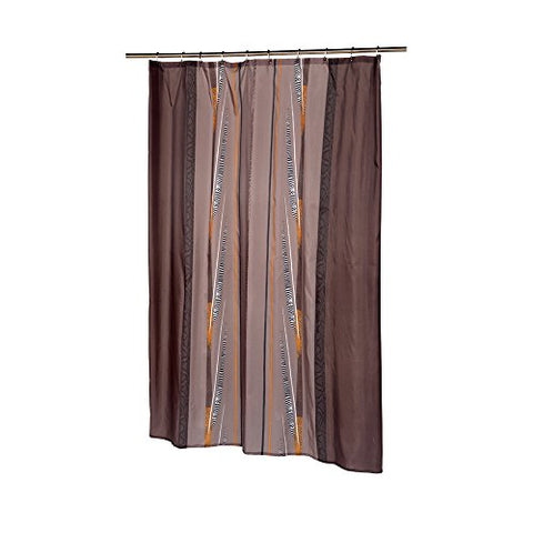 Park Avenue Deluxe Collection Park Avenue Deluxe Collection Extra Long  inch Catherine inch  Fabric Shower Curtain