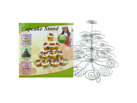 Regalo Perfecto Collection Decorative Metal Cupcake Stand