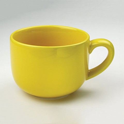Ben and Jonah Set of 4 - 24-oz Jumbo Mug (Yellow)