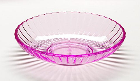 Park Avenue Deluxe Collection Park Avenue Deluxe Collection Pink Rib-Textured Soap Dish