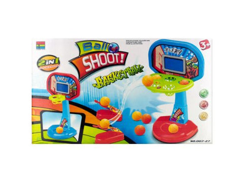 Regalo Perfecto Collection Two-in-One Tabletop Basketball Shooter Game