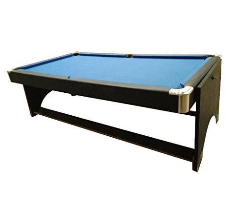 By PoolCentral 8.5' x 4.3' Recreational 2-in-1 Spin Around Pool Billards and Table Tennis Game Table