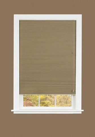 Park Avenue Collection Honeycomb Cellular Pleated Shade 27x64 - Mocha