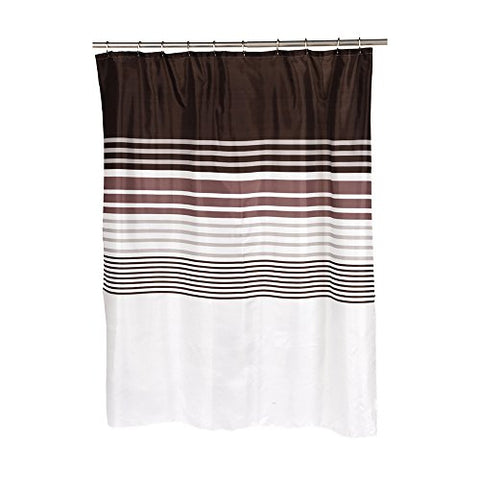 Park Avenue Deluxe Collection Park Avenue Deluxe Collection  inch Christina inch  Fabric Shower Curtain