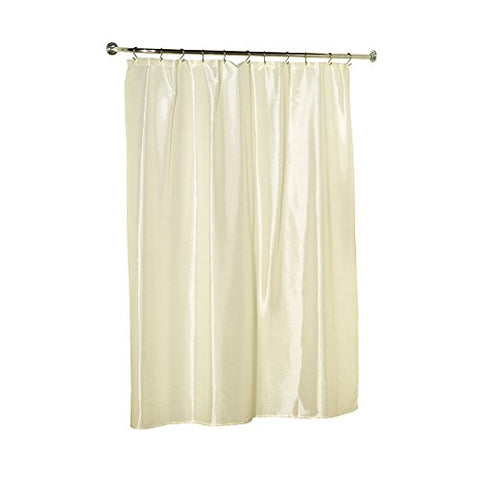 Park Avenue Deluxe Collection Park Avenue Deluxe Collection  inch Lauren inch  Dobby Fabric Shower Curtain in Bone