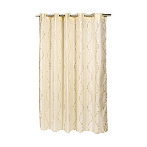 Park Avenue Deluxe Collection EZ-ON?  inch Bristol inch  Polyester Shower Curtain
