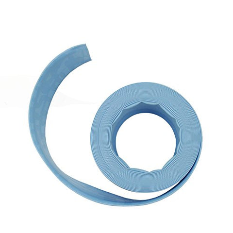 Pool Central Light Blue Swimming Pool Filter Backwash Hose 50' x 1.5 inch