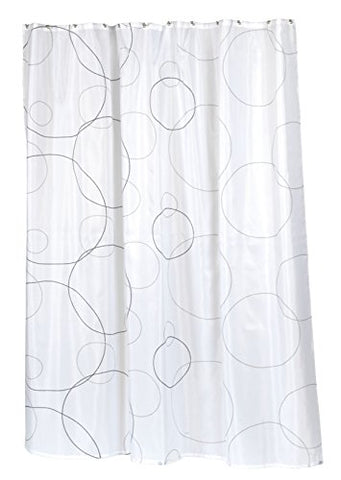BenandJonah Collection Fabric Shower Curtain 70 x 72 inch  Buble Ava