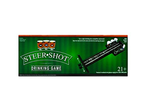 Regalo Perfecto Collection Steer Shot Drinking Game