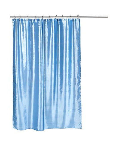 Park Avenue Deluxe Collection Park Avenue Deluxe Collection  inch Shimmer inch  Faux Silk Shower Curtain in Slate