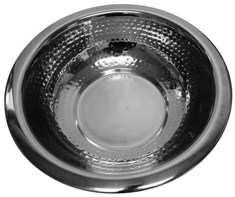Ben and Jonah Stainless Steel Washing Bowl-Hammered Design