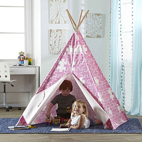 Hamptons Collection Children's Teepee pink puzzle
