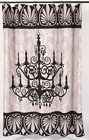 BenandJonah Collection Fabric Shower Curtain 70 x 72 inch  Brighten the Room Luminere