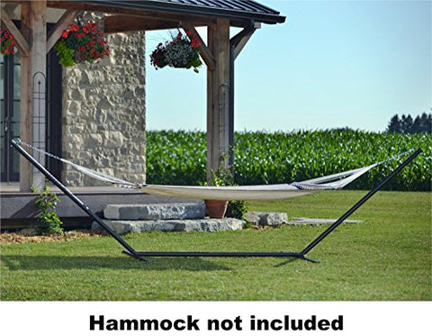 Eclipse Collection 15ft 3-Beam Hammock Stand - Oil Rubbed Bronze