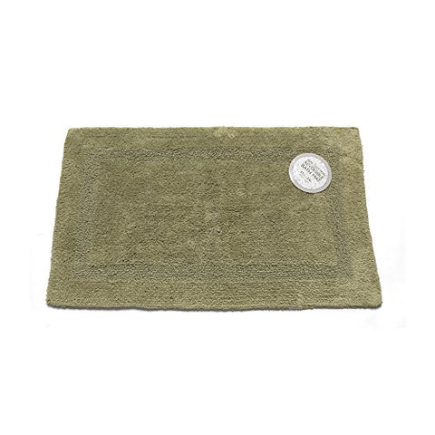 Park Avenue Deluxe Collection Park Avenue Deluxe Collection Large-Sized Reversible Cotton Bath Mat in Sage
