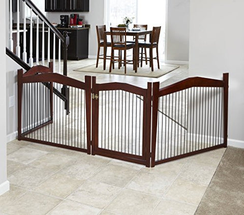 Pet Rite Collection 2-in-1 Crate - Medium Crate and Gate