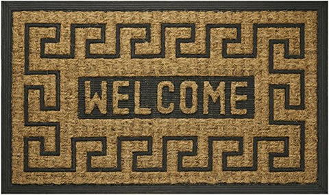 Park Avenue Collection Coco Mat Welcome Key - 18x30