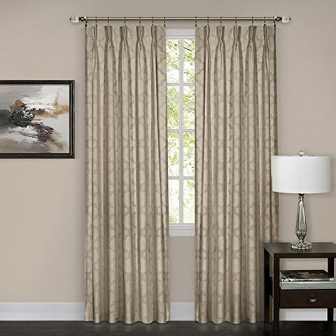 Park Avenue Collection Windsor Pinch Pleat Panel 34x63