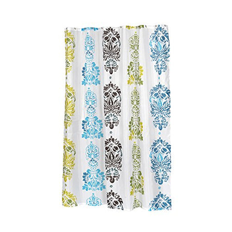 Park Avenue Deluxe Collection Park Avenue Deluxe Collection Extra Long  inch Olivia inch  Fabric Shower Curtain