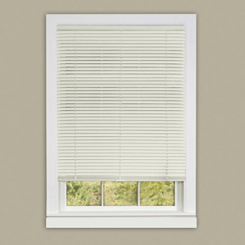 Park Avenue Collection Cordless Deluxe Sundown 1 inch  Room Darkening Mini Blind 27x64 - Alabaster