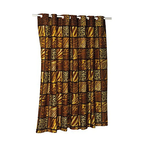 Park Avenue Deluxe Collection Park Avenue Deluxe Collection EZ-ON?  inch Wild Encounters inch  Polyester Shower Curtain