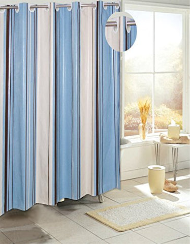 Royal Bath Easy On No Hooks Needed Peva Non Toxic Shower Curtain