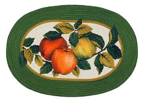 Park Avenue Collection Braided Rug 20 x 30 - Apple Orchard