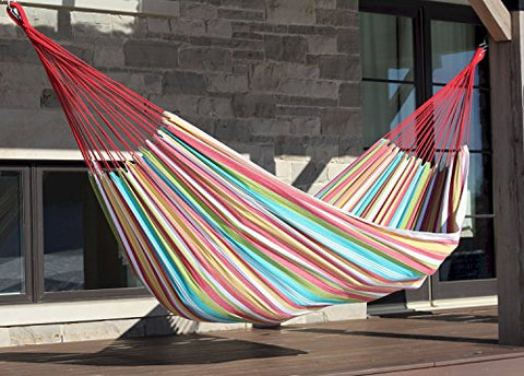 Eclipse Collection Brazilian Style Hammock - Single (Salsa)