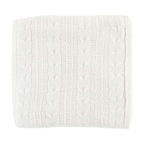 Ben and Jonah Chic Throw Blanket (Ivory)