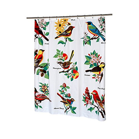 Park Avenue Deluxe Collection Park Avenue Deluxe Collection  inch Audubon inch  Fabric Shower Curtain