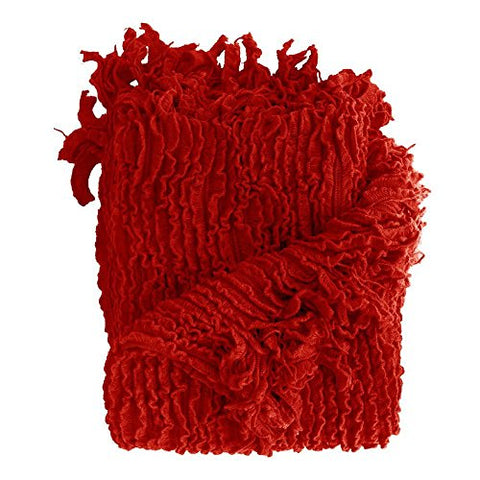 Ben and Jonah Decorative Throw (Red)
