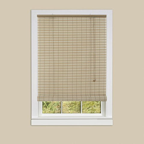 Park Avenue Collection Ashland Vinyl Roll-Up Blind 60x72 - Desert/Almond