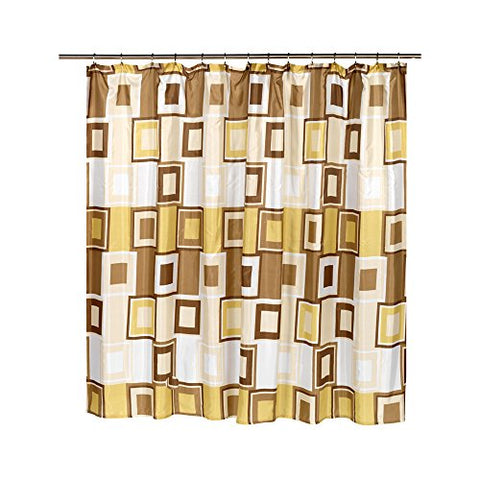 Park Avenue Deluxe Collection Park Avenue Deluxe Collection Extra Wide  inch Contempo inch  Fabric Shower Curtain