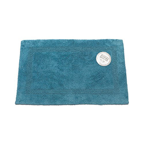 Park Avenue Deluxe Collection Park Avenue Deluxe Collection Large-Sized Reversible Cotton Bath Mat in Royal Blue