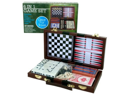 Regalo Perfecto Collection 6 in 1 Game Set