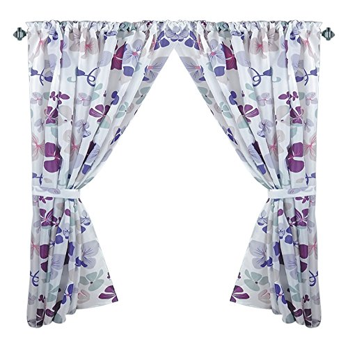 Park Avenue Deluxe Collection Park Avenue Deluxe Collection  inch Joanne inch  Fabric Window Curtain