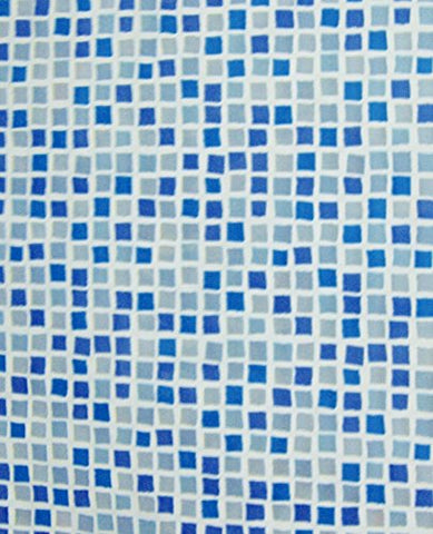 Park Avenue Deluxe Collection Park Avenue Deluxe Collection  inch Mosaic inch  Vinyl Shower Curtain