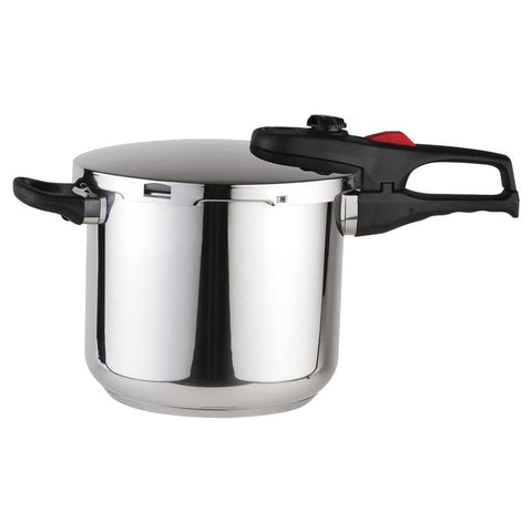 ReadyFast Stainless Steel Fast Pressure Cooker (6.4-qt)